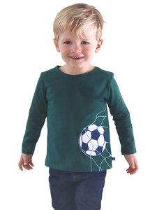 Kinder Langarm-Shirt Fußball reine Bio-Baumwolle - Enfant Terrible