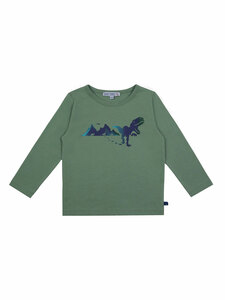 Enfant Terrible Kinder Langarm-Shirt Dino reine Bio-Baumwolle - Enfant Terrible