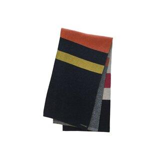 StreifenSchal aus extrafeiner Merinowolle - austriandesign.at