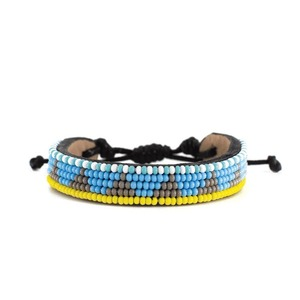 Massai Armband - Leder & Glasperlen - Viele Farben / 5 Row - Unisex - Ubuntu.Life