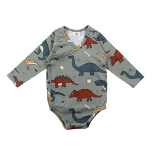 Wickel Baby Body *Funny Dinosaurs* GOTS Bio | Walkiddy - Walkiddy