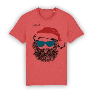 Bedrucktes Herren T-Shirt aus Bio-Baumwolle SANTA KARL - karlskopf