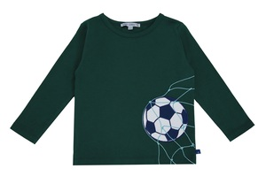 Shirt longsleeve Fussball tannengrün - Enfant Terrible