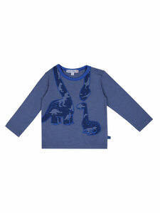 Enfant Terrible Baby Langarm-Shirt Dinos Bio-Baumwolle - Enfant Terrible