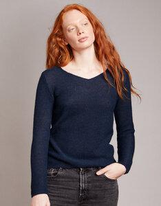Alpaka Pullover - V Neck Sweater - Les Racines Du Ciel