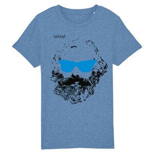 Bedrucktes Kinder T-Shirt (Gr. 98-116) aus Bio-Baumwolle CHILLER - karlskopf