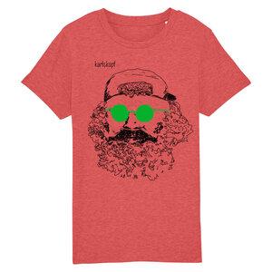 Bedrucktes Kinder T-Shirt (Gr. 122-164) aus Bio-Baumwolle SKATER - karlskopf