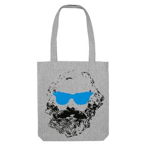 Bedruckte Shopper Tasche aus recycelter Baumwolle CHILLER - karlskopf