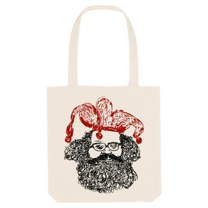 Bedruckte Shopper Tasche aus recycelter Baumwolle CASPER - karlskopf