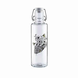 Soulbottle Trinkflasche 0,6l No bees, no future - soulbottles