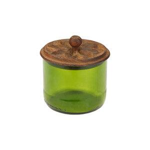 Recycling Vorratsgläser - Flower - S/M/L/XL - Weinflasche - Chako Zanzibar - Chako Zanzibar