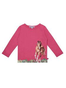 Enfant Terrible Mädchen Langarm-Shirt Pferde reine Bio-Baumwolle - Enfant Terrible