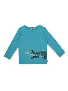 Enfant Terrible Kinder Langarm-Shirt Krokodil reine Bio-Baumwolle - Enfant Terrible