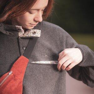 Fleece Pullover aus 100% Bio-Baumwolle - soki