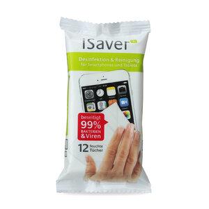 iSaver+ Display Desinfektions- und Reinigungstücher - Shift