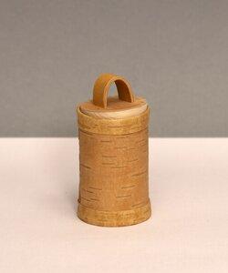 Kräuterdose aus natürlicher Birkenrinde - sagaan