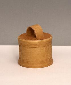 Teedose aus natürlicher Birkenrinde - sagaan