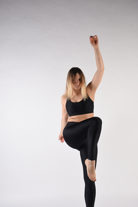 "Hoch taillierte Yoga- und Sportleggins ""LEGGINGS"" - MARGARET AND HERMIONE Swimwear Vienna"