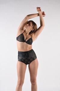 """Triangel-Bikini Top mit verstellbaren Trägern """"BIKINI TOP No. 4"""" - MARGARET AND HERMIONE Swimwear Vienna"""