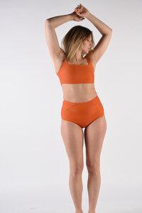 "Minimalistisches Bikini Top ""BIKINI TOP No. 8"" - MARGARET AND HERMIONE Swimwear Vienna"
