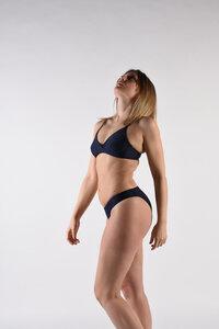 """Bikini Top mit verstellbaren Trägern """"BIKINI TOP No.9"""" - MARGARET AND HERMIONE Swimwear Vienna"""
