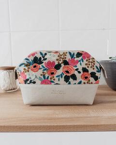 Kosmetiktasche WILD ROSES - Größe M - Manufaktur Nicola Marisa