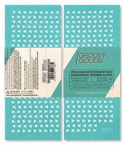 ökologisches Schwammtuch, Spültuch in versch. Designs - GroovyGoods