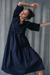 Kleid Kamuki Nachtblau - Jyoti - Fair Works