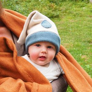 """Fleece Mütze für Babys - """"Warmes Zwergerl"""" - Biuwaa"""
