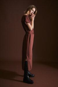 Satin-Kleid aus LENZING ECOVERO - LANIUS