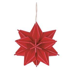 LOVI Holz-Stern-Anhänger zum Selberbasteln (10cm)- tolle Weihnachtsdeko - Lovi
