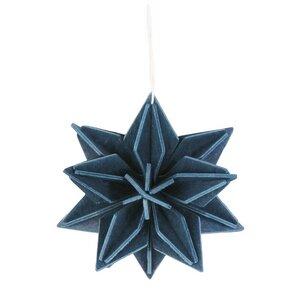 LOVI Holz-Stern-Anhänger zum Selberbasteln (7cm)- tolle Weihnachtsdeko - Lovi