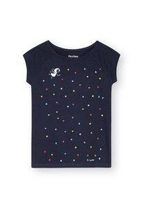 Damen T-Shirt Konfettimädchen Bio Fair - FellHerz