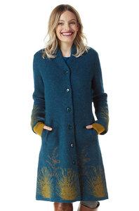 Edler Damen-Mantel aus Alpaka - GOLDIE - Apu Kuntur