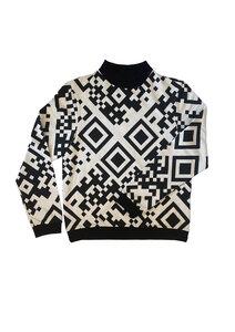 Unisex Pullover, Jesse QR- Sweatshirt aus Bio-Baumwolle - Sophia Schneider-Esleben