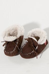 KINDER-Fell-Pantoffeln- HAUSSCHUHE - Apu Kuntur