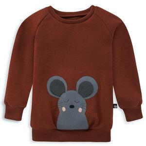 Kinder Sweatshirt Maus - internaht