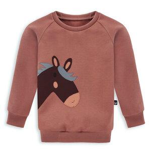 Pferde Pullover für Kinder - internaht