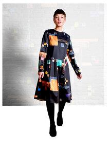 Dress Eve, Triadic - Damenkleid aus Bio-Baumwolle - Sophia Schneider-Esleben