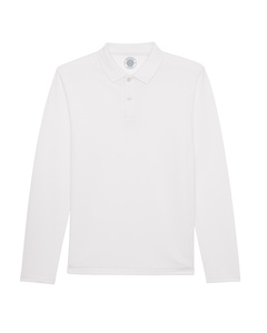 "Herren Langarm-Poloshirt aus Bio-Baumwolle ""Syd Long Sleeve"" - University of Soul"