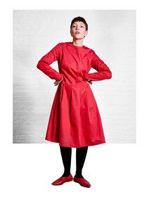 Dress Eve, Red - Damenkleid aus Bio-Baumwolle - Sophia Schneider-Esleben