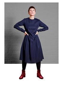 Dress Eve, Navy - Damenkleid aus Tencel - Sophia Schneider-Esleben