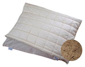 Schlafkissen mit Innenkissen und Stepphülle - Speltex