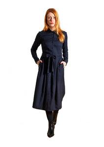 Dress Marie, Navy - Damenkleid aus Tencel - Sophia Schneider-Esleben