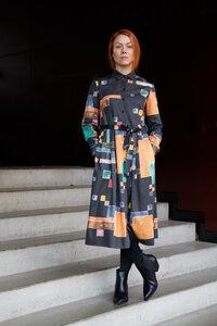 Dress Marie, Triadic - Damenkleid aus Bio-Baumwolle - Sophia Schneider-Esleben