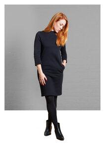 Dress Gretchen, Black - Damenkleid aus Bio-Baumwolle - Sophia Schneider-Esleben