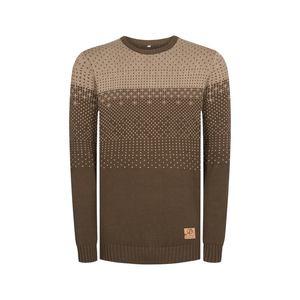 Gloaming Pullover Braun - bleed