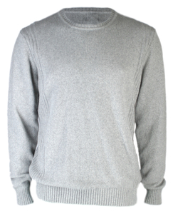 Roberto A, Pullover Rundhals, grau - Rifò - Circular Fashion