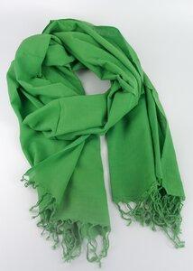 Handgewebtes Tuch aus Indien in Grün - Green Size