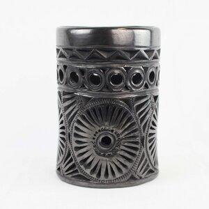 Dekovase Calado Sonne aus Keramik - Mitienda Shop